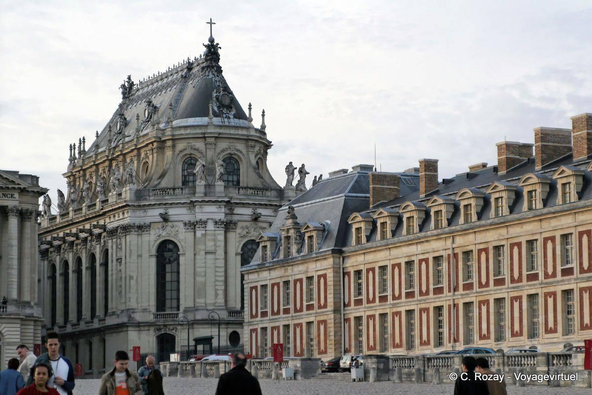 Die schlosskapelle von versailles for Autour de versailles