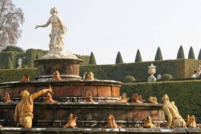 Die Latona Brunnen Versailles