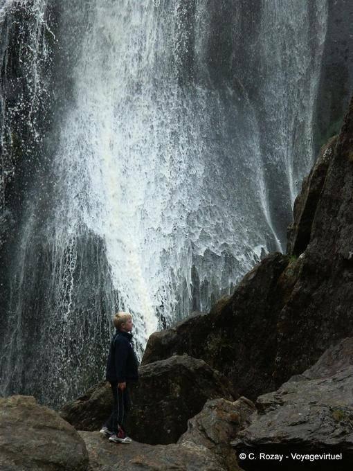 Cascade de Powerscourt, Irlande 24