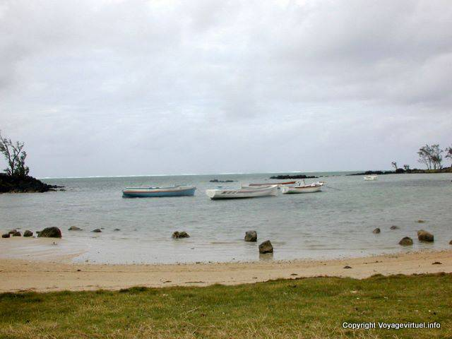 Poudre d'Or, der Strand, Mauritius.