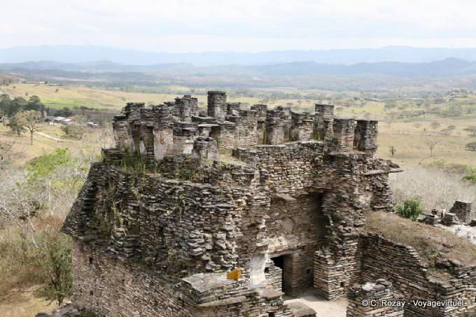 Toniná cité maya 19