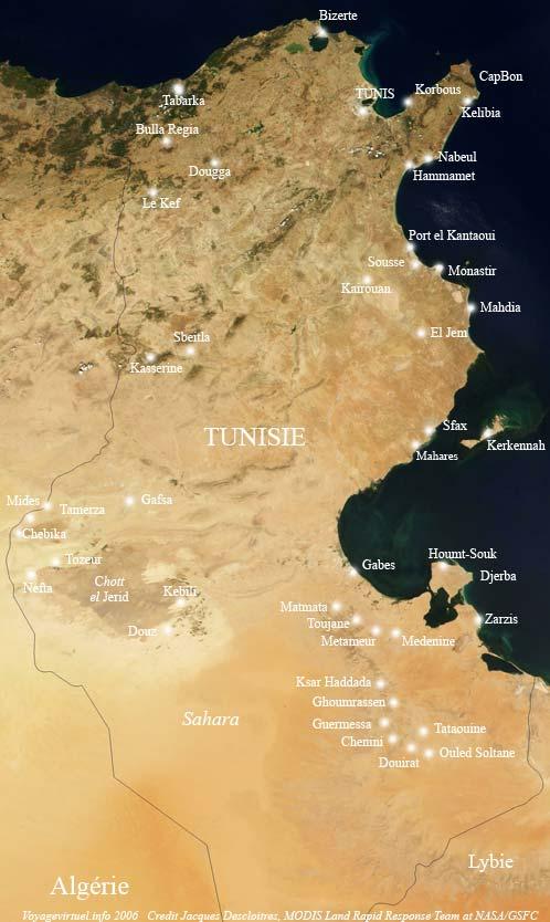 Tunesien Karte.Karte Von Tunesien Fotos Fuhrer