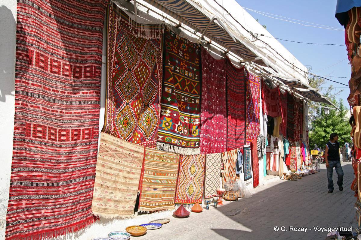 TeppichAusstellung Houmt Souk, Djerba  Tunesien