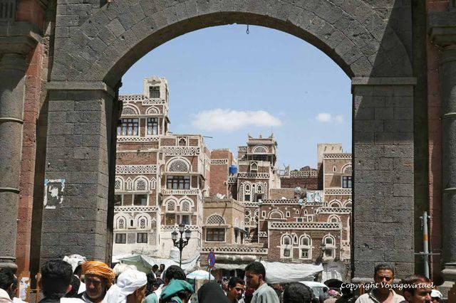 Sanaa Bab El Yemen 4287
